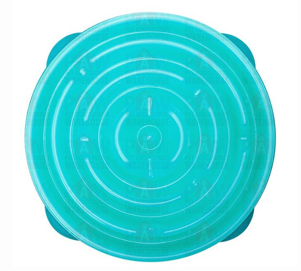 Outward Hound Fun Feeder - Teal