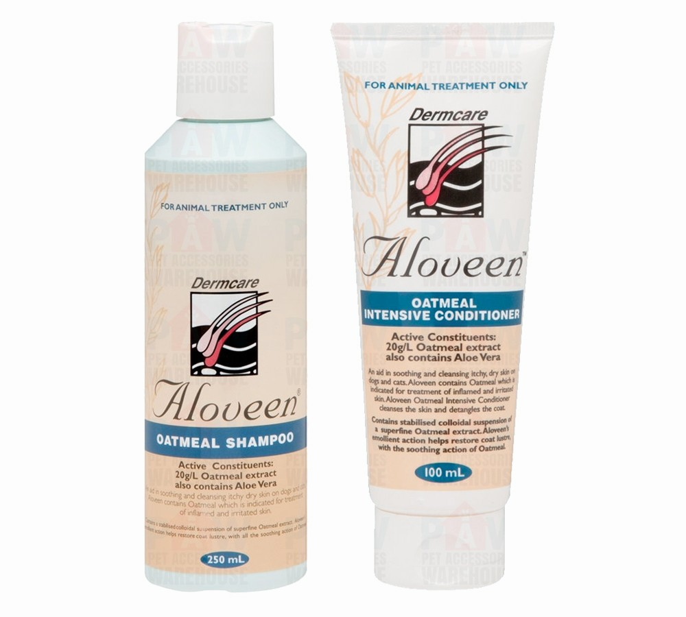 Dermcare Aloveen Oatmeal Shampoo & Conditioner Combo Pack