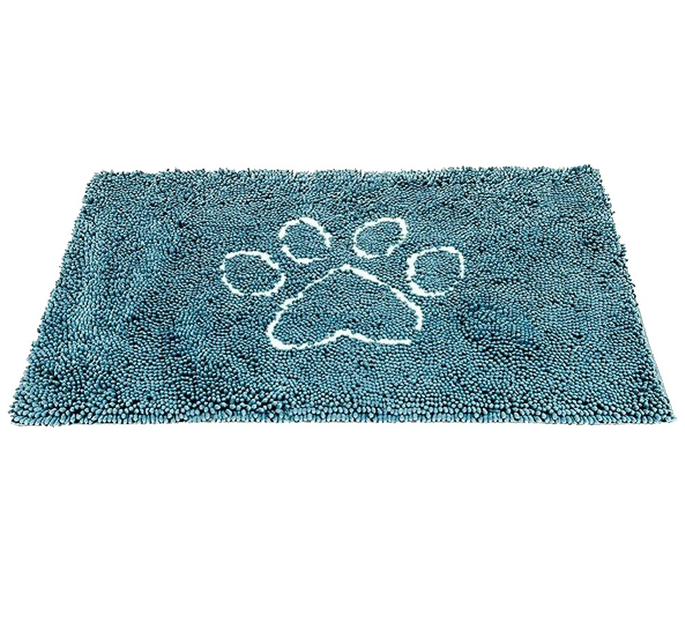 Dirty Dog Doormat Small 41cm x 58cm - Blue