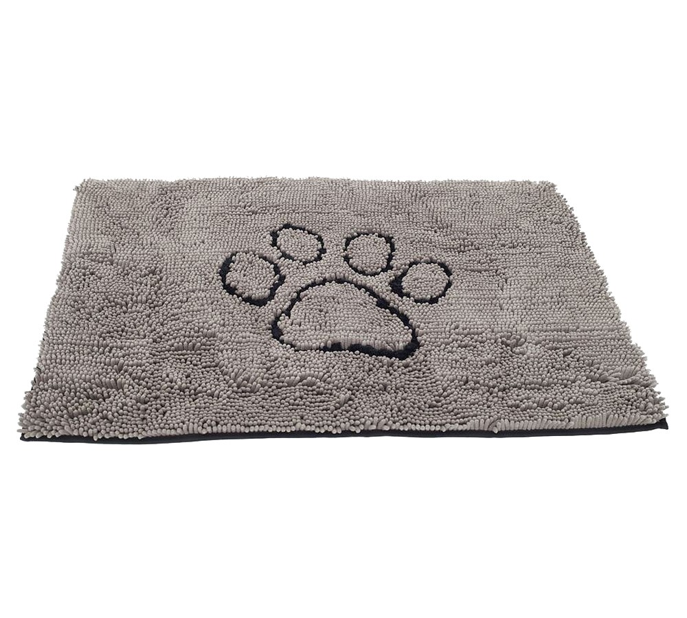 Dirty Dog Doormat Small 41cm x 58cm - Grey