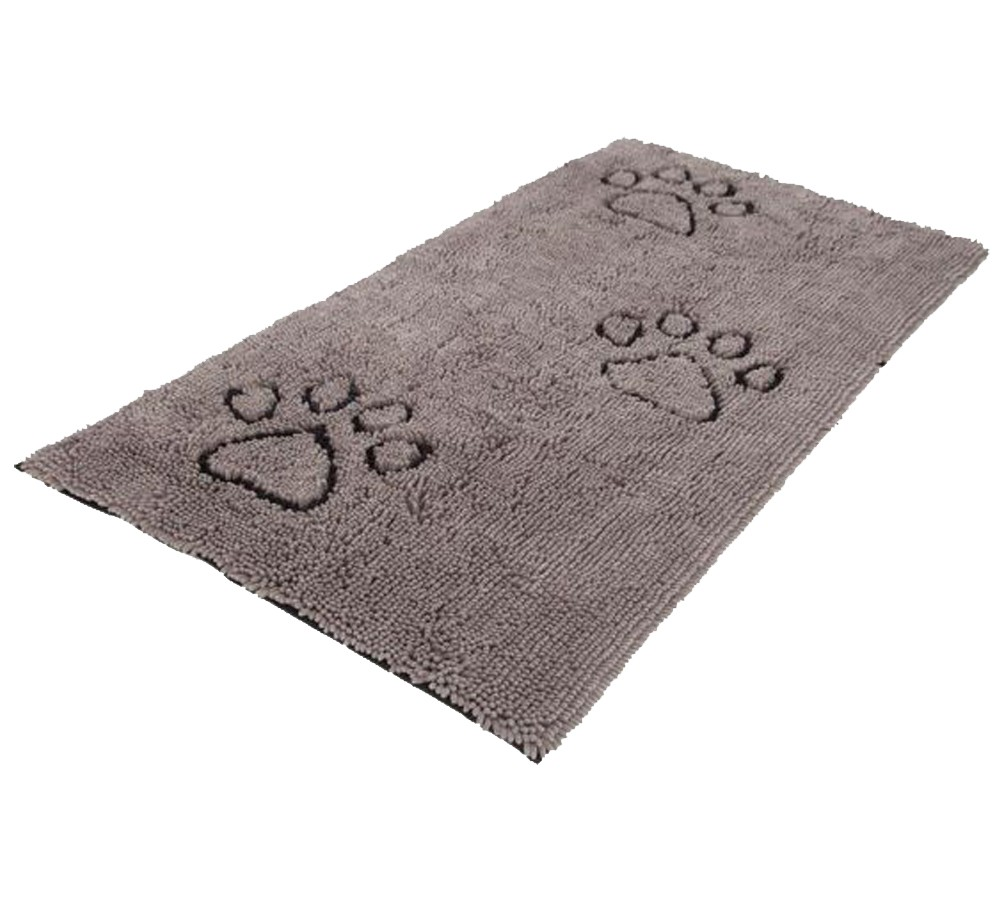 Dirty Dog Doormat Runner 76cm x 152cm - Grey
