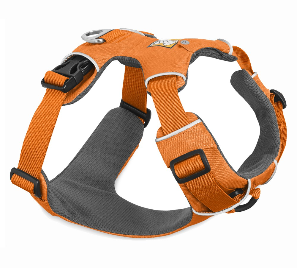 Ruffwear Front Range Harness Orange Poppy - Medium