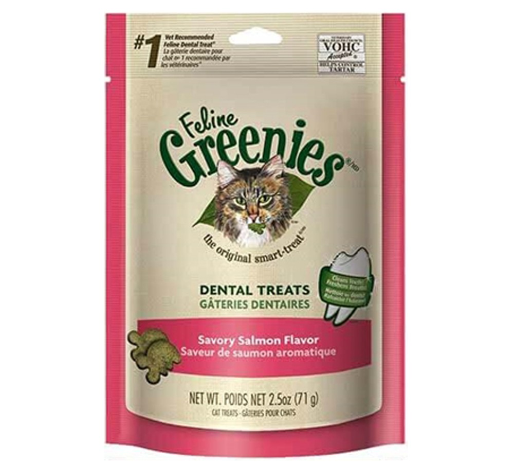 Greenies for Cats Salmon 71gm