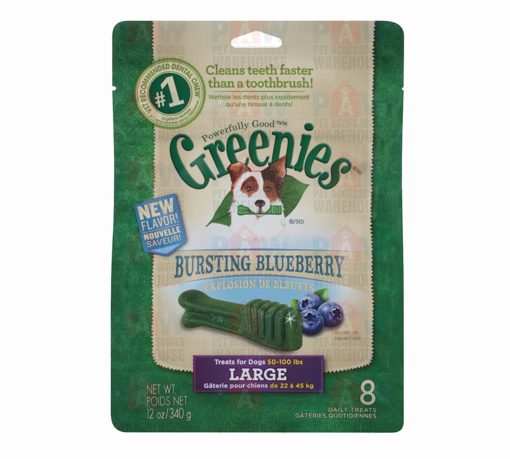 Greenies for Dogs Blueberry Large Size - 340gm