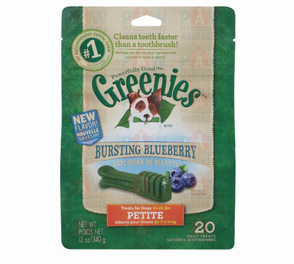 Greenies for Dogs Blueberry Petite Size - 340gm