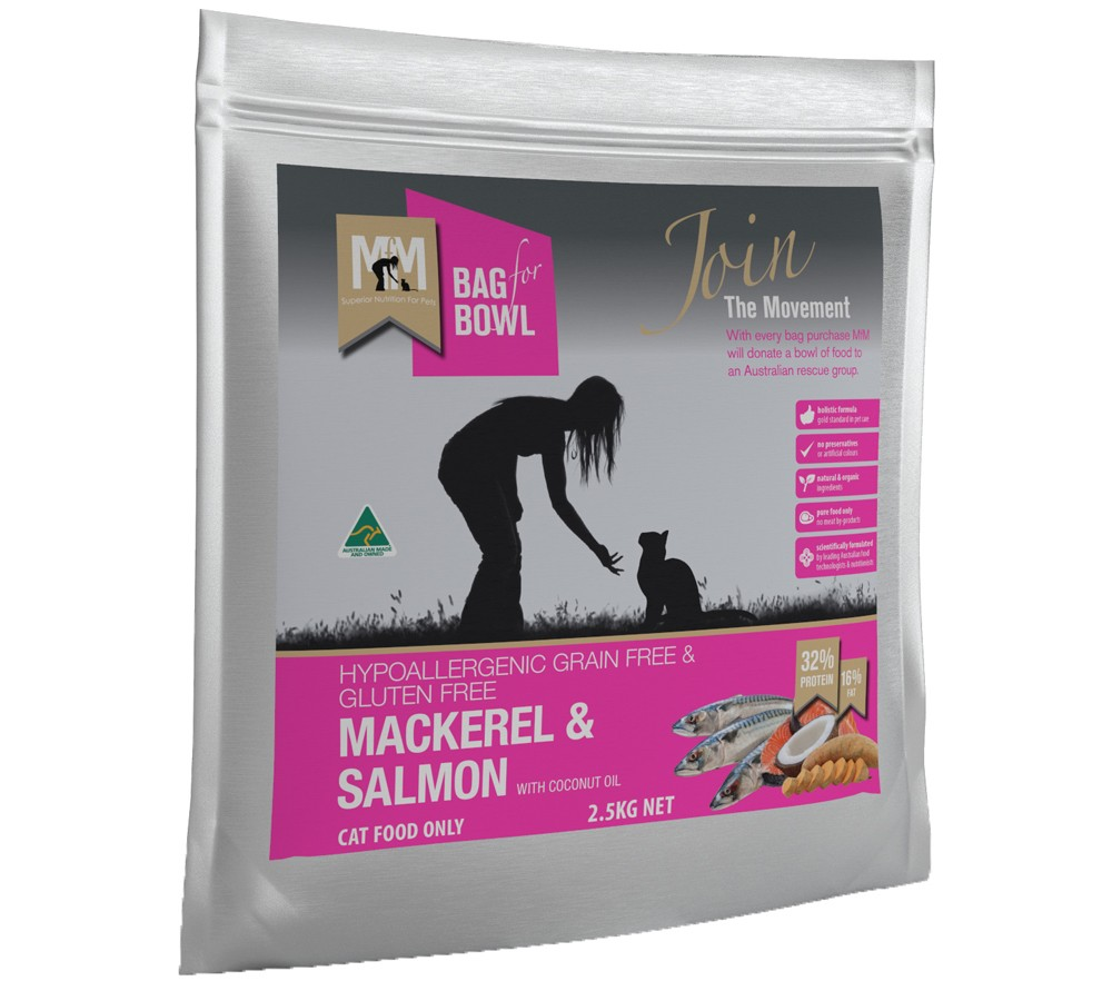 Meals For Meows Grain Free Mackerel & Salmon 2.5kg
