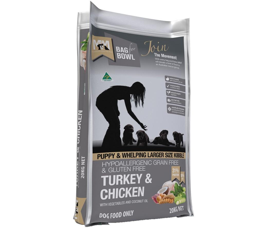 Meals For Mutts Puppy Grain Free Turkey & Chicken 20kg