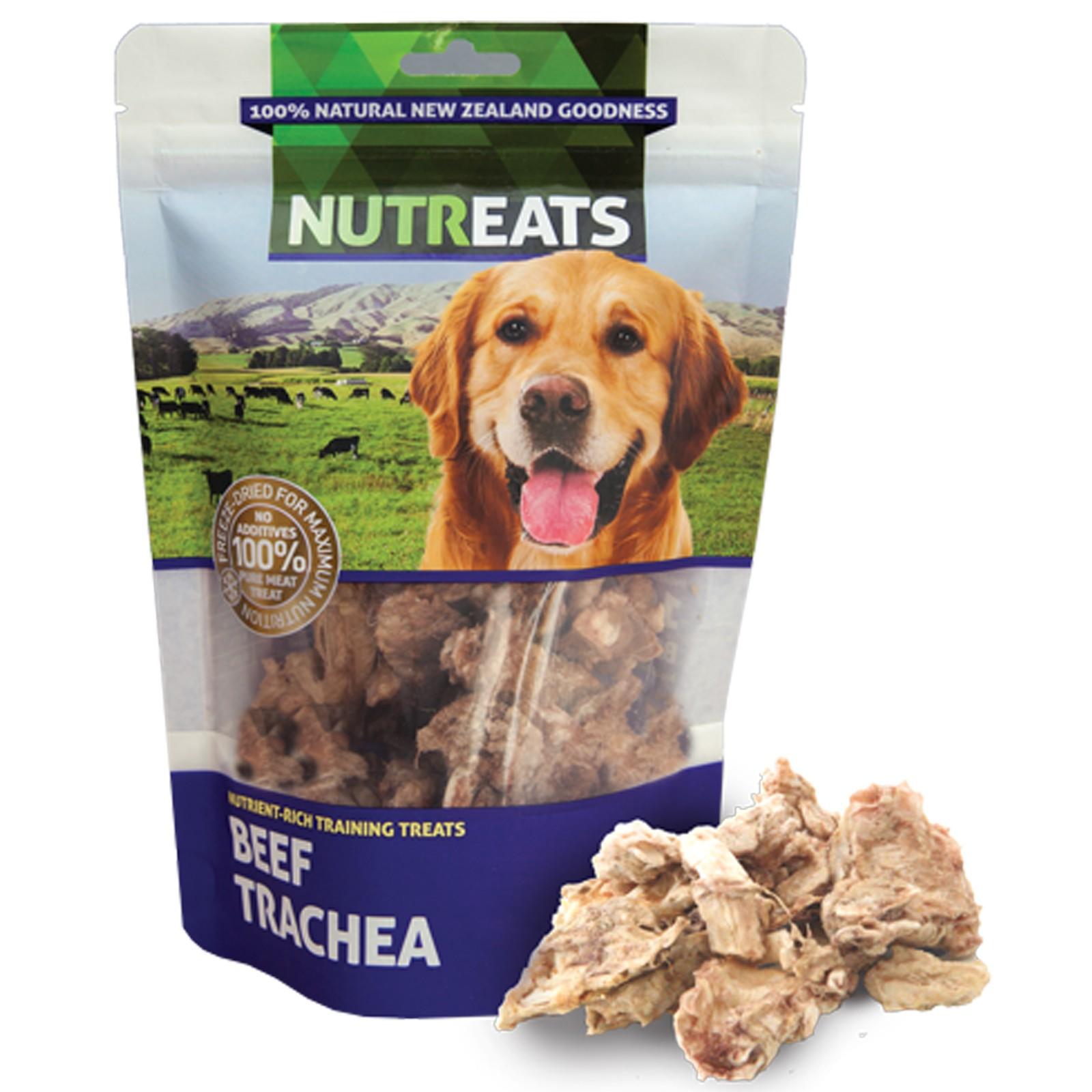 Nutreats 100% Natural Dog Treats Beef Trachea 50gm