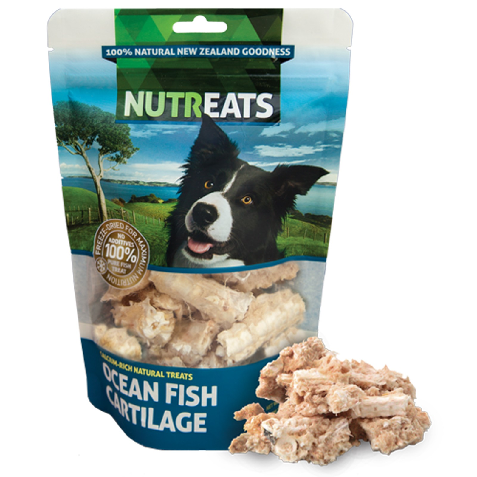 Nutreats 100% Natural Dog Treats Fish Cartilage 50gm