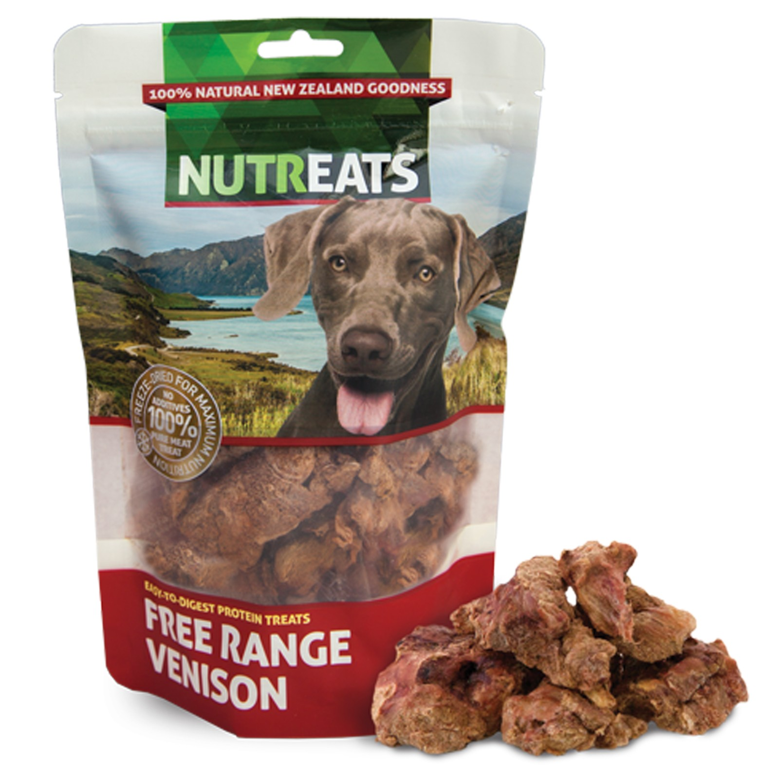 Nutreats 100% Natural Dog Treats Venison 50gm