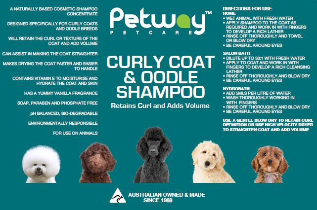 Petway Curly Coat & Oodle Shampoo 500ml