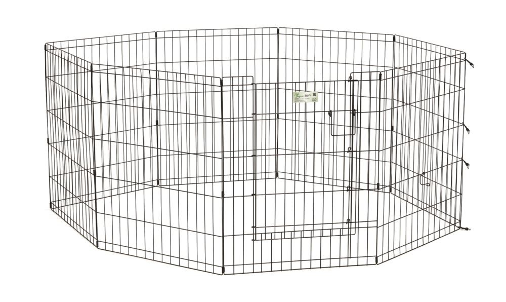 Midwest Puppy Playpen 90cm High with Full Access Door