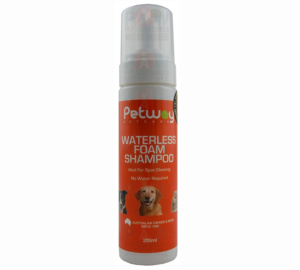 Petway Waterless Foam Shampoo 200ml
