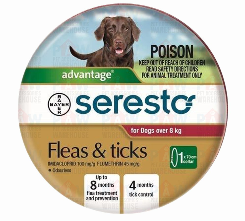 Advantage Seresto Flea & Tick Collar - Dogs Over 8kg