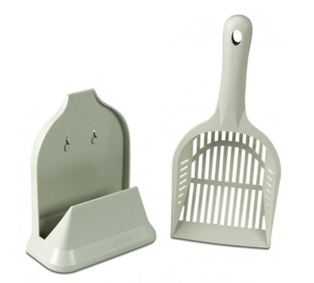 Smart Cat Kitty Litter Scoop with Holder