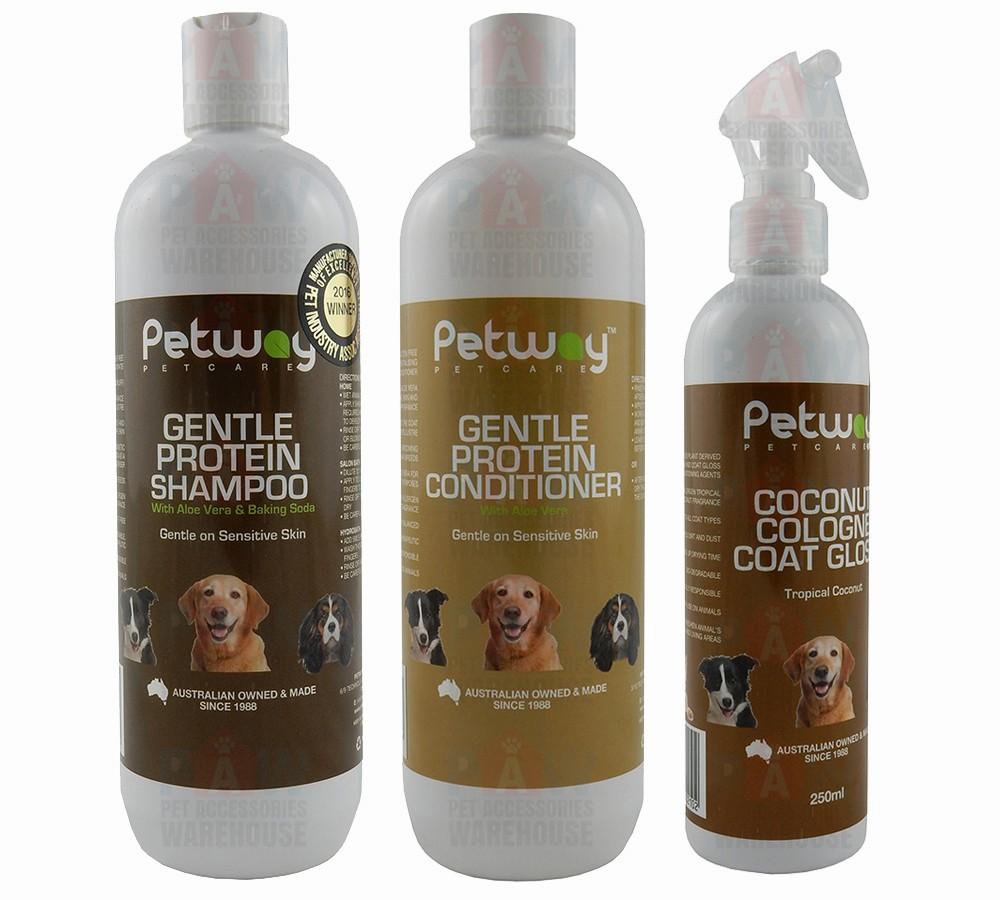 Petway Gentle Protein Grooming Kit