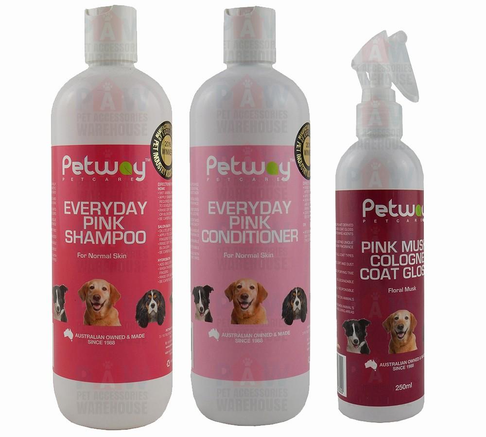 Petway Everyday Pink Grooming Kit