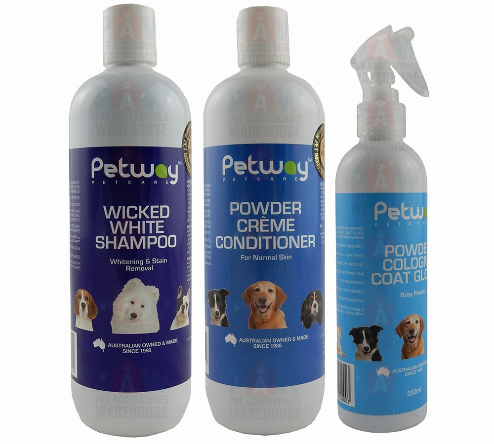 Petway Wicked White Grooming Kit