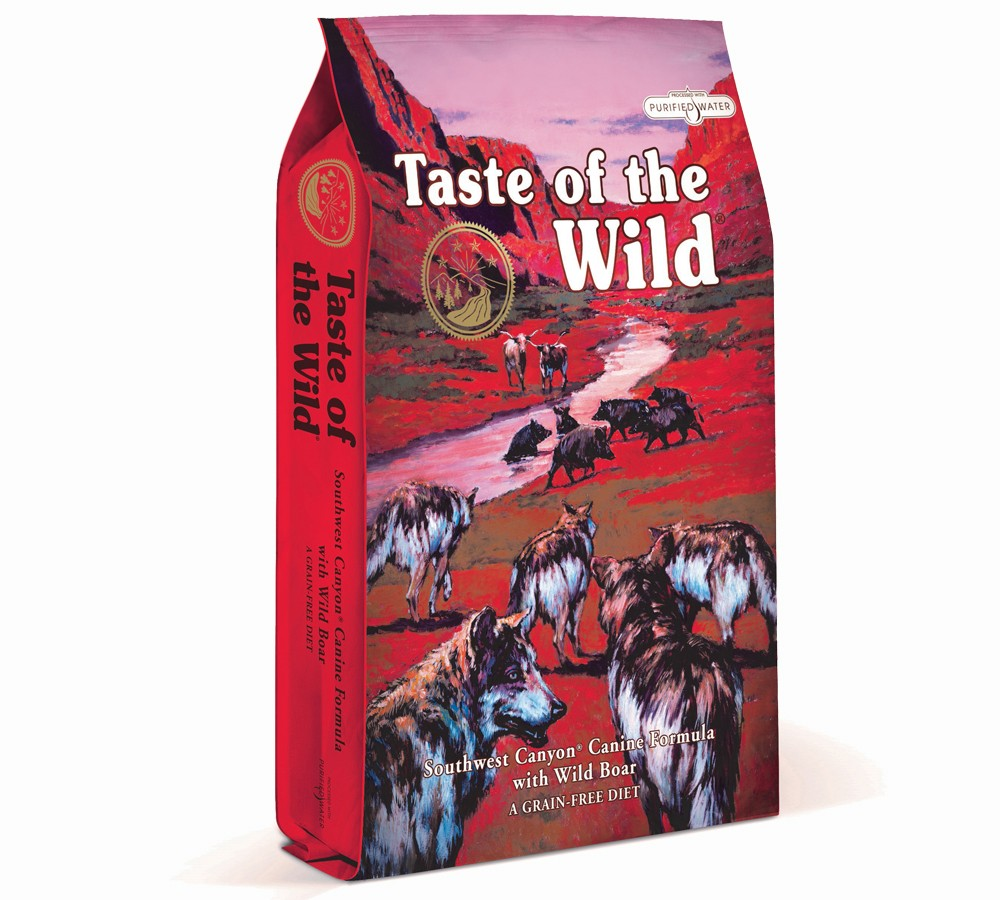 Taste of The Wild Southwest Canyon Canine Formula with Wild Boar - 2kg