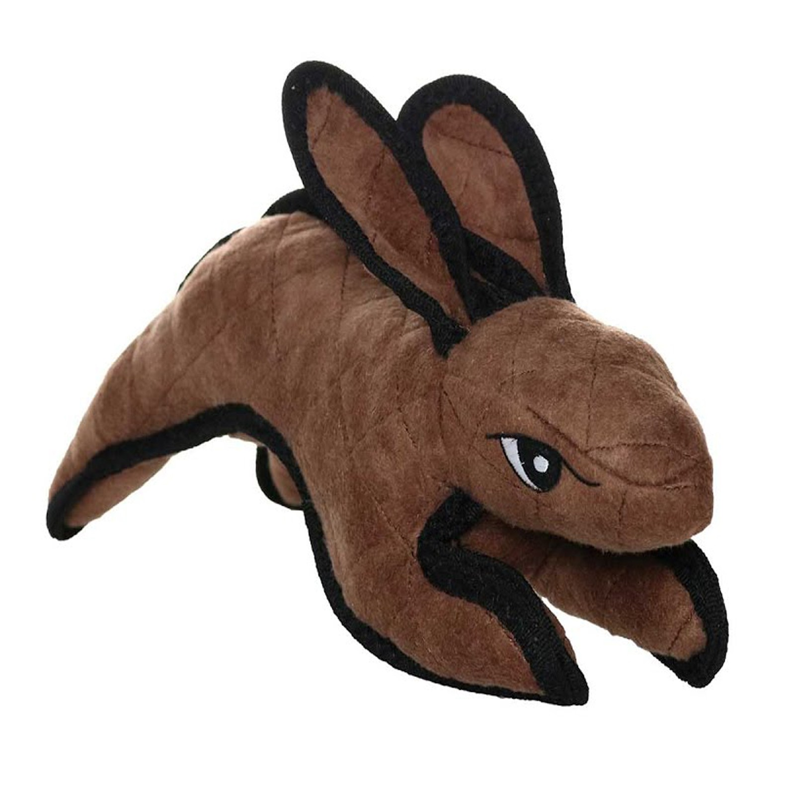 Tuffy Barnyard JR Rabbit Brown Tough Soft Toy for Dogs