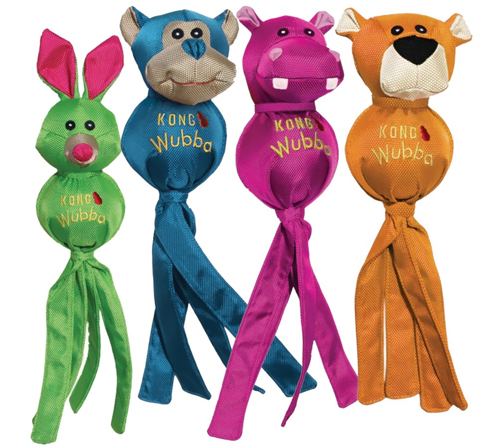 Kong Wubba Ballistic Friends Small - Various Colours