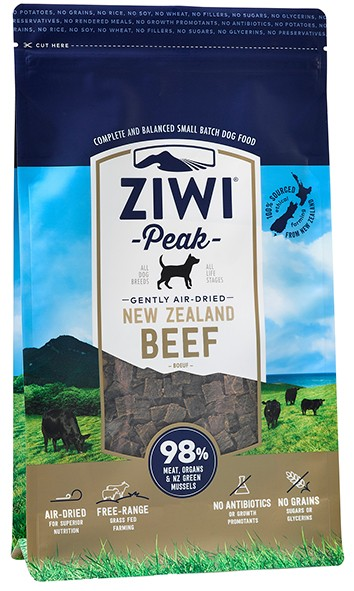 Ziwipeak for Dogs Air Dried Beef Cuisine 454gm