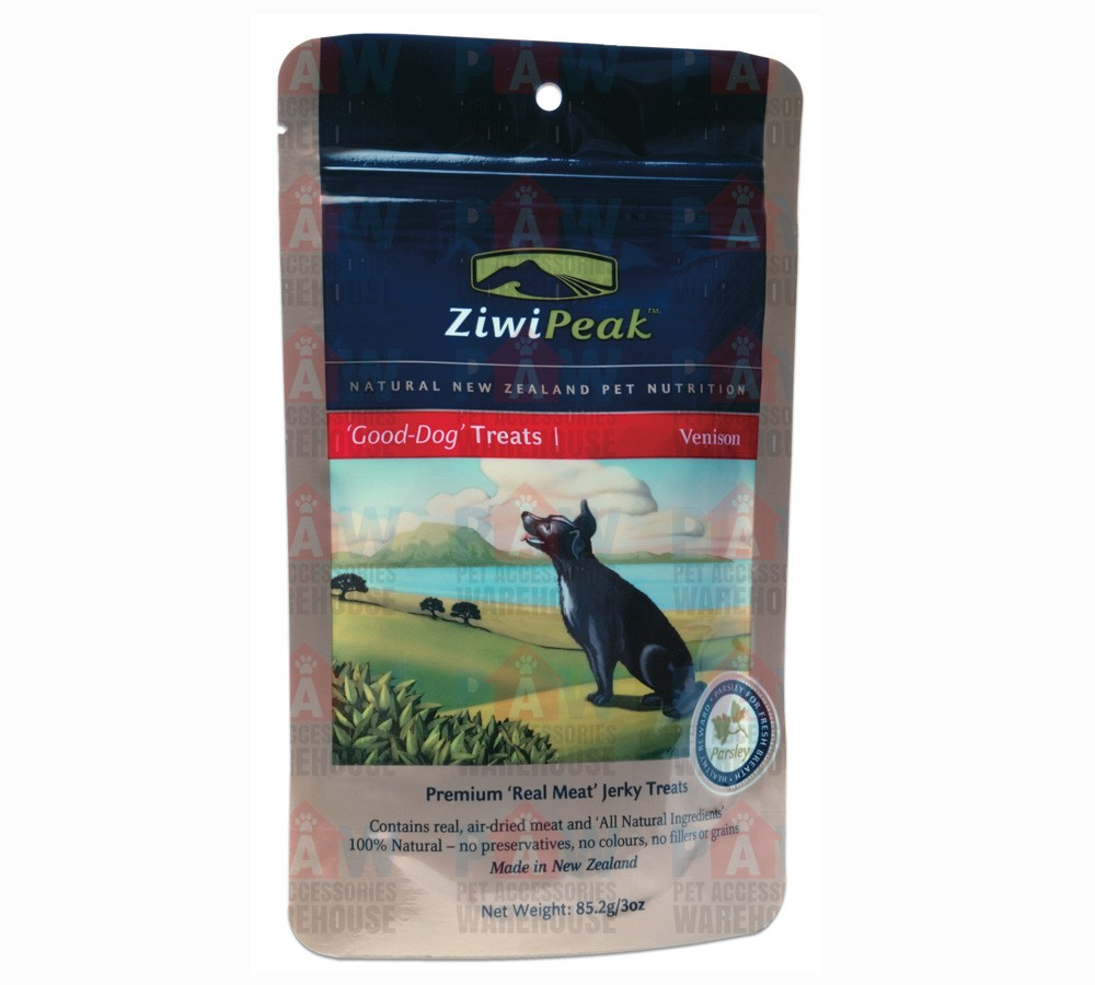 Ziwipeak Daily Dog Air Dried Treats Venison 85gm