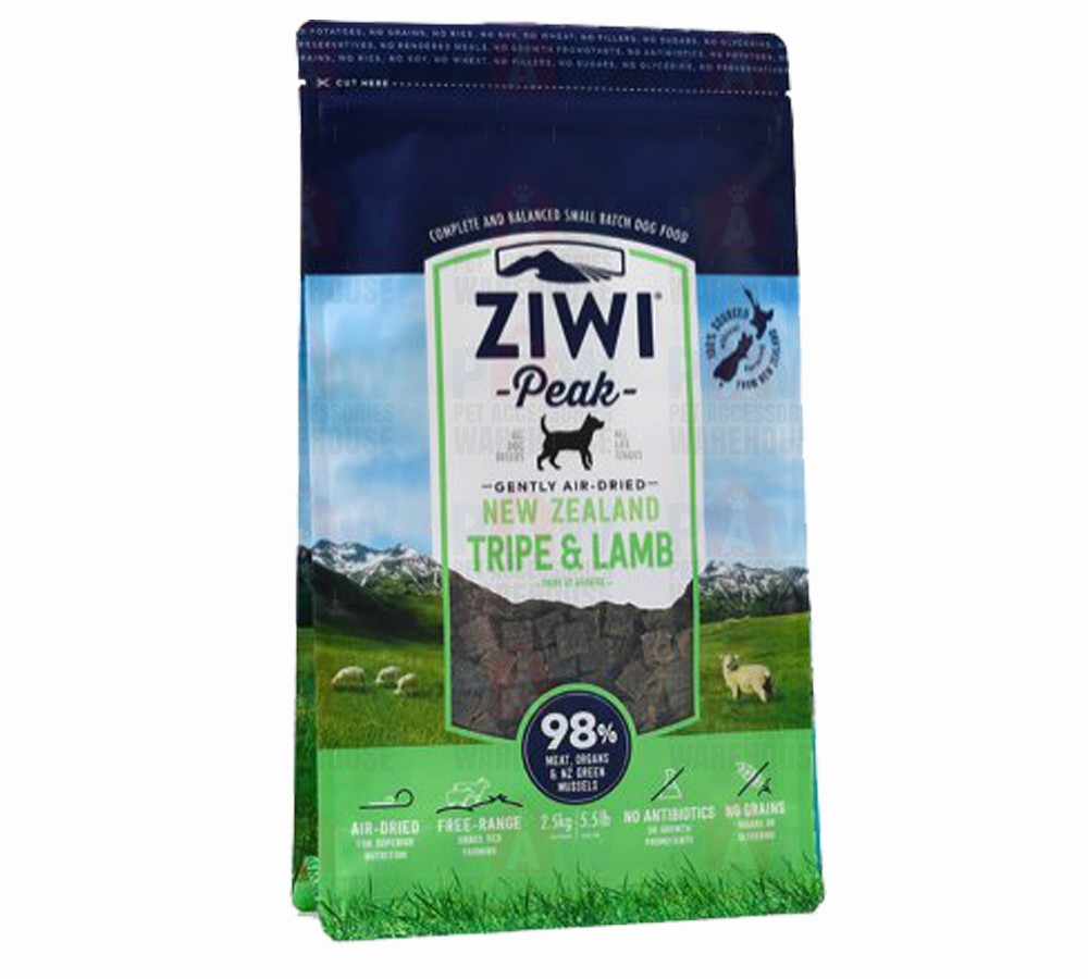 Ziwipeak for Dogs Air Dried Tripe & Lamb Cuisine 454gm