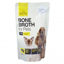 Australian Beef Bone Broth for Dogs and Cats 500gm