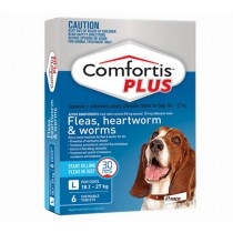 Comfortis Plus for Dogs 18.1-27.0kg BLUE - 6 Pack