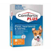 Comfortis Plus for Dogs 4.6-9.0kg ORANGE - 6 Pack