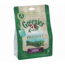 Greenies for Dogs Fresh Mint Large Size - 340gm