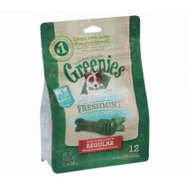 Greenies for Dogs Fresh Mint Regular Size - 340gm