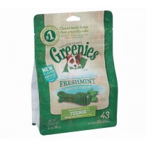 Greenies for Dogs Fresh Mint Teenie Size - 340gm