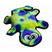 Outward Hound Invincible Gecko Green & Purple - 2 Squeakers
