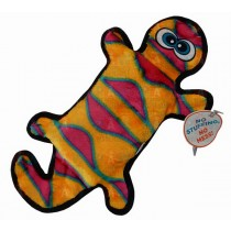 Outward Hound Invincible Gecko Orange & Pink - 4 Squeakers