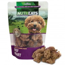 Nutreats 100% Natural Dog Treats Beef Heart 50gm