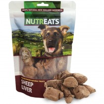Nutreats 100% Natural Dog Treats Sheep Liver 50gm