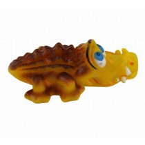 Brown Crocodile with Squeaker