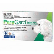 Paragard for Dogs Up to 5kg BLUE - 4 Pack