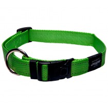 Rogz Utility Collar For Dogs - Fanbelt 20mm 34-56cm Large - Lime