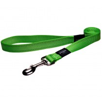 Rogz Utility Lead For Dogs - Fanbelt 20mm 1.4mtr - Lime