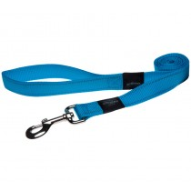 Rogz Utility Lead For Dogs - Fanbelt 20mm 1.4mtr - Turquoise