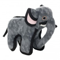 Tuffy Zoo JR Elephant Tough Soft Toy for Dogs