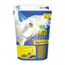 Vetafarm MD Maintenance Diet Pellets 2kg - For Small to Medium Parrots Birds