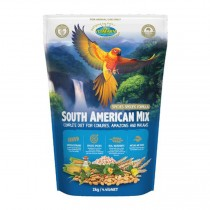 Vetafarm South American Mix 2kg - For Conures Amazons and Macaws