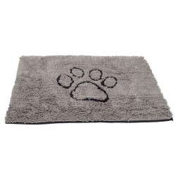 Dirty Dog Doormat Large 66cm x 89cm - Grey