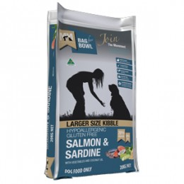 Meals For Mutts Salmon & Sardine 20kg - LARGER SIZE KIBBLE
